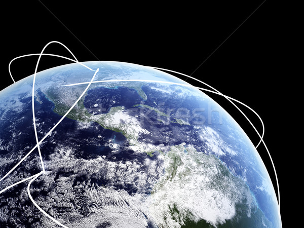 Global Internet Stock photo © Spectral