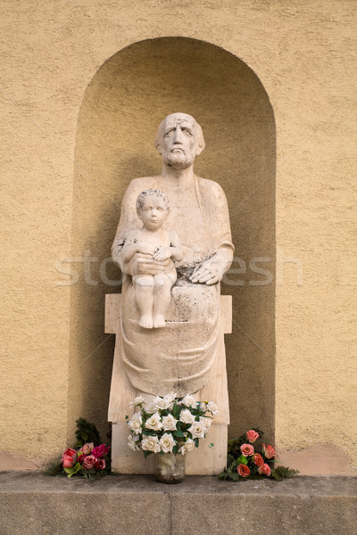 Memorial Statue in Budapest Stock photo © Spectral