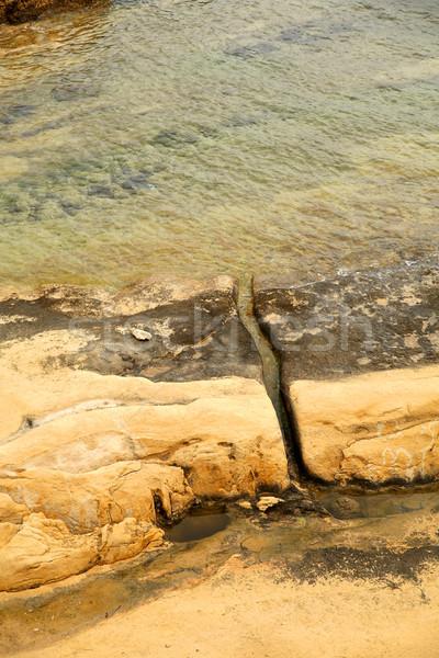 Costa Malta spiaggia natura mare Ocean Foto d'archivio © Spectral