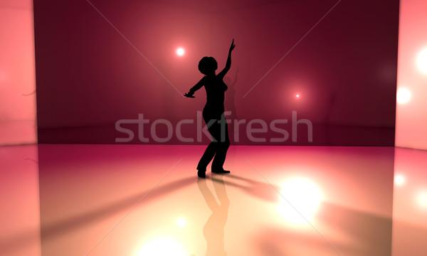 3D gerenderd illustratie muziek dans Stockfoto © Spectral