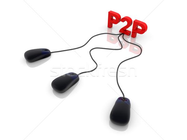 P2P Stock photo © Spectral