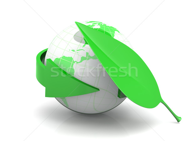 Ecologic World Stock photo © Spectral