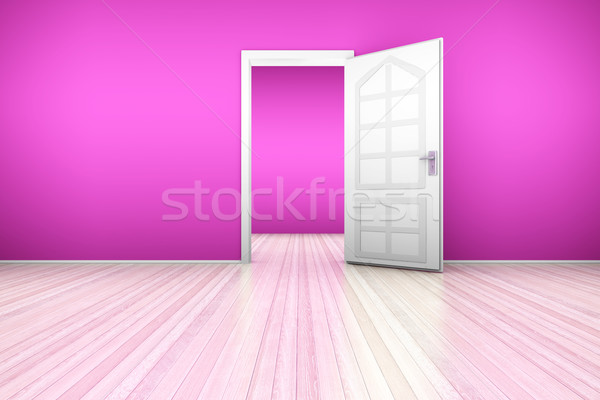 Pink Apartment Stock photo © Spectral