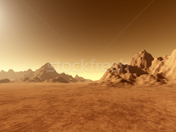 Mars - Ground Stock photo © Spectral