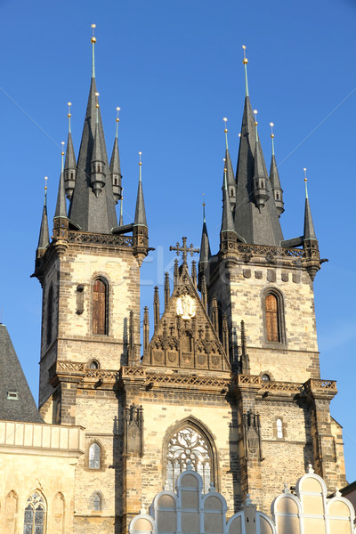 Teyn Church in Praha Stock photo © Spectral