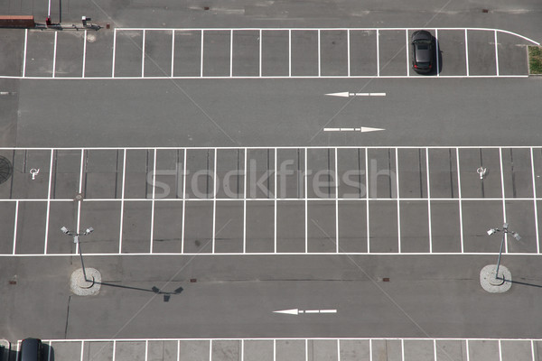 Parking parking espace fond Shopping urbaine Photo stock © Spectral
