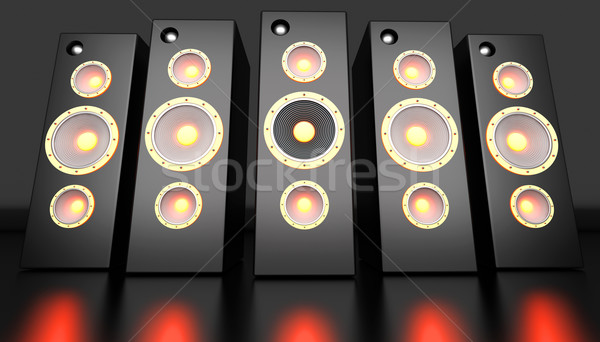 Power Speakers	 Stock photo © Spectral