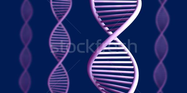 általános DNS spirál 3D renderelt dupla Stock fotó © Spectral