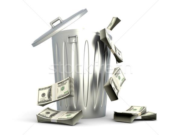Dollar Trash Stock photo © Spectral