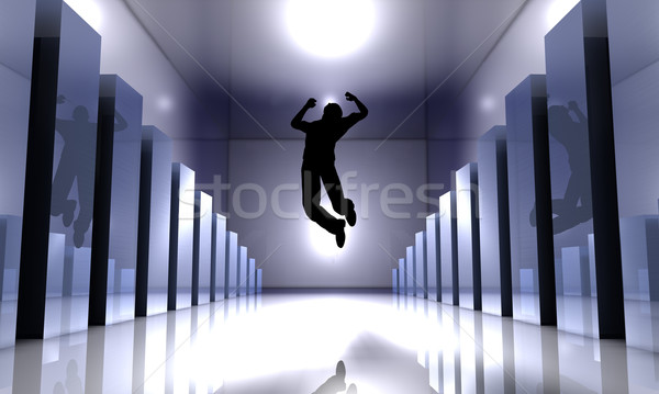Success Jump Stock photo © Spectral