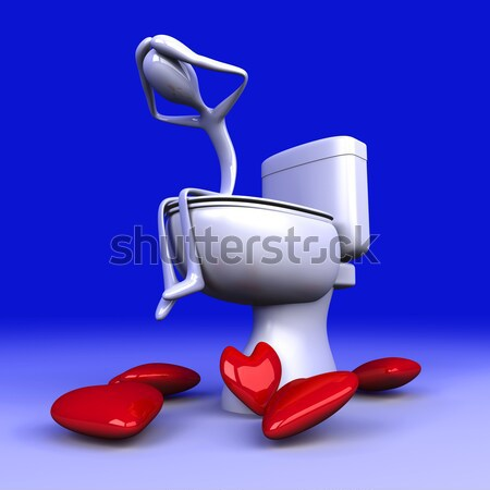Toilet depression Stock photo © Spectral