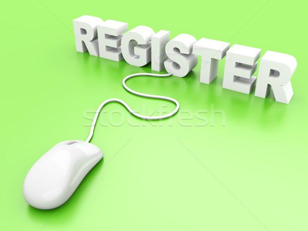 Register Stock photo © Spectral