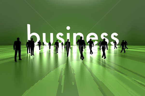 Walking towards business Stock photo © Spectral