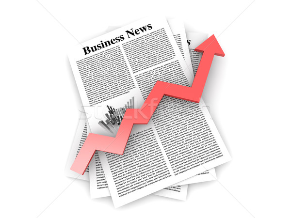 Growth in the Business News Stock photo © Spectral