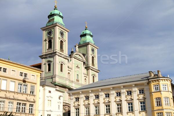 Historics building in Linz Stock photo © Spectral