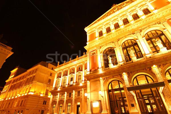 Opera huis Wenen Oostenrijk Europa wijn Stockfoto © Spectral