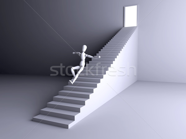 Jumping into Stock photo © Spectral