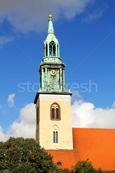 The Marienkirche in Berlin, Germany Stock photo © Spectral