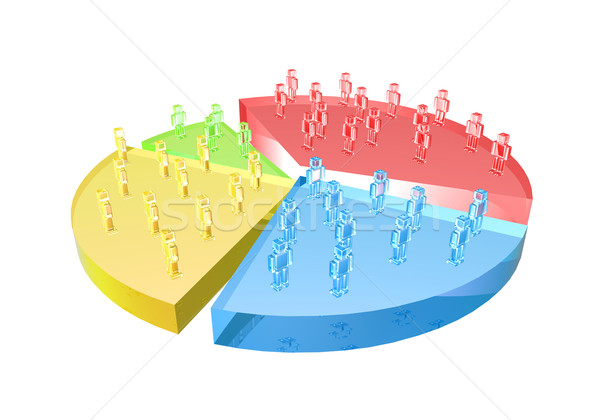 Growing user base Stock photo © Spectral