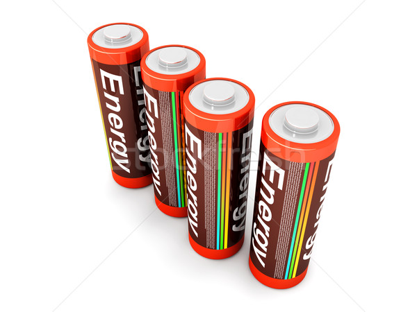 Batteries Stock photo © Spectral