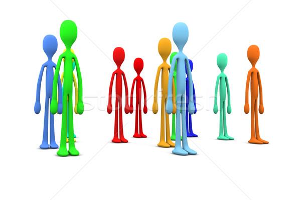 Diversity Crowd Stock photo © Spectral
