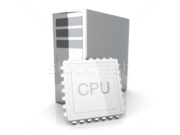 Desktop CPU Stock photo © Spectral