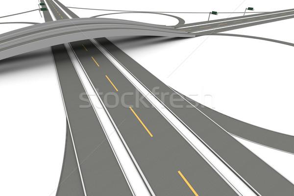 Highway Interchange Stock photo © Spectral