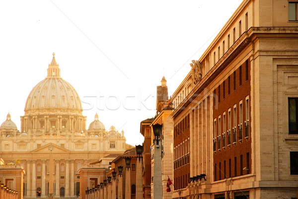 Evening view on the Vatican in Rome Stock photo © Spectral
