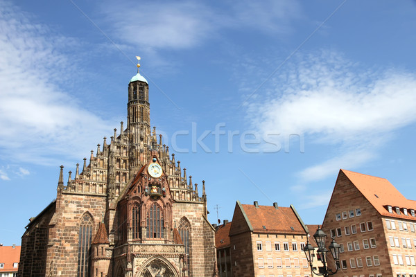The Frauenkirche in Nuremberg Stock photo © Spectral