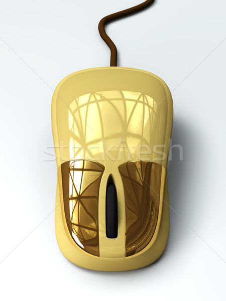 Golden Mouse Stock photo © Spectral
