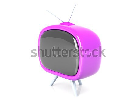 Retro Tv Stock photo © Spectral