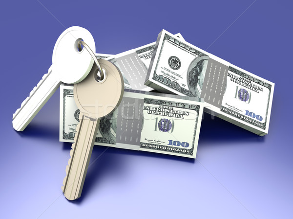 Money and Keys Stock photo © Spectral