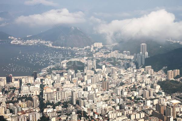 Kilátás Rio de Janeiro panorámakép Brazília dél-amerika tengerpart Stock fotó © Spectral
