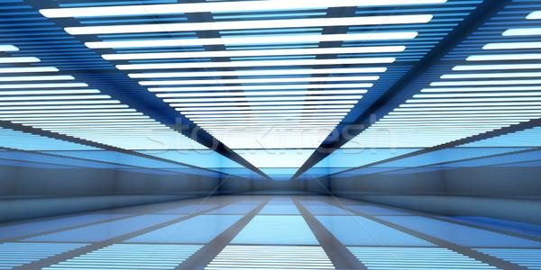 Empty Warehouse Stock photo © Spectral