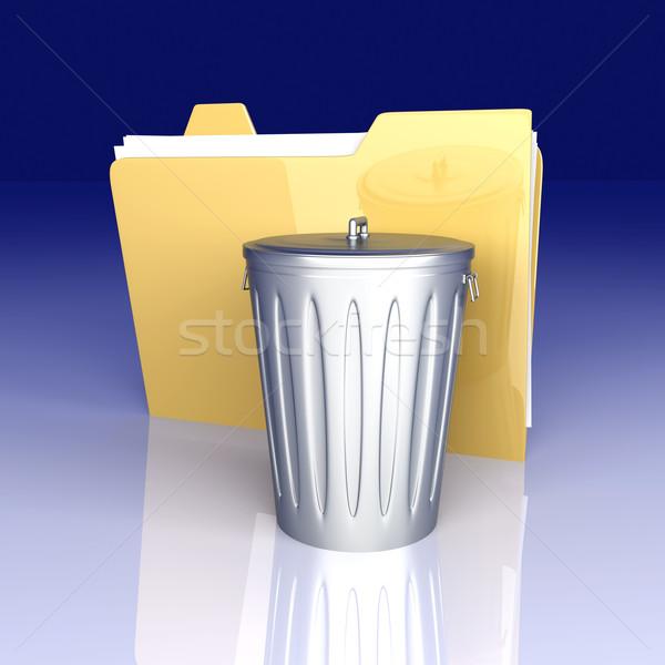 Belge 3D render örnek iş bilgisayar Stok fotoğraf © Spectral