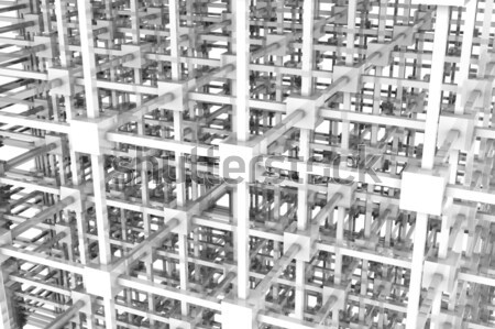 The Grid Stock photo © Spectral