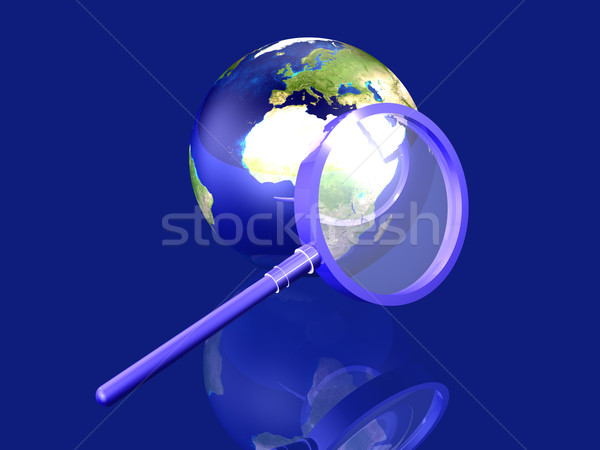 Global Search - Europe Stock photo © Spectral