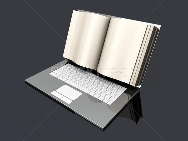 Digital Book Stock photo © Spectral
