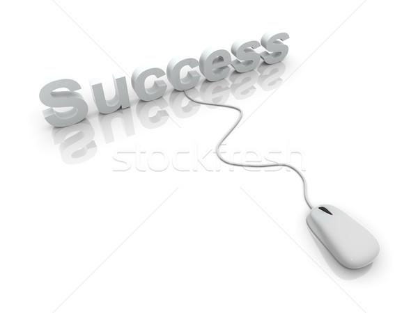 Stock photo: Clicking Success