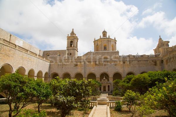 Malta iglesia edificio ciudad verano Foto stock © Spectral