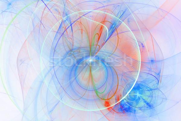 Digitale digitaal abstract licht ontwerp ruimte Stockfoto © Spectral