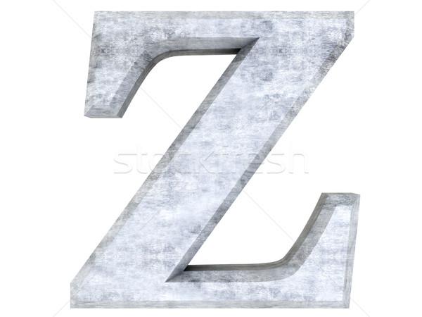 Letter Z Stock photo © Spectral