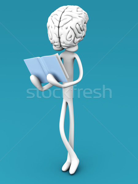 Brain reading	 Stock photo © Spectral