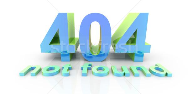 404 Stock photo © Spectral