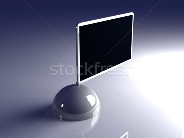 Ontwerp scherm bliksem 3D gerenderd illustratie Stockfoto © Spectral