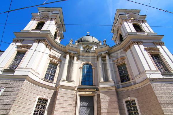 Famoso Universidad iglesia Austria Europa calle Foto stock © Spectral