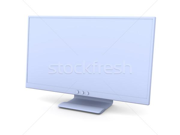 Monitor 3d illustration internet televisie web scherm Stockfoto © Spectral