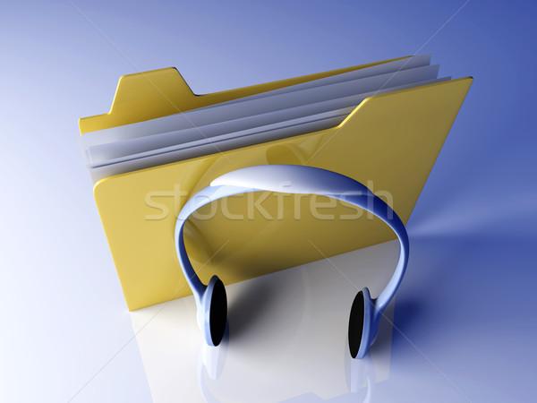 Stock photo: Music Folder