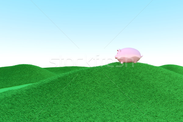 Piggy bank ecology Stock photo © Spectral