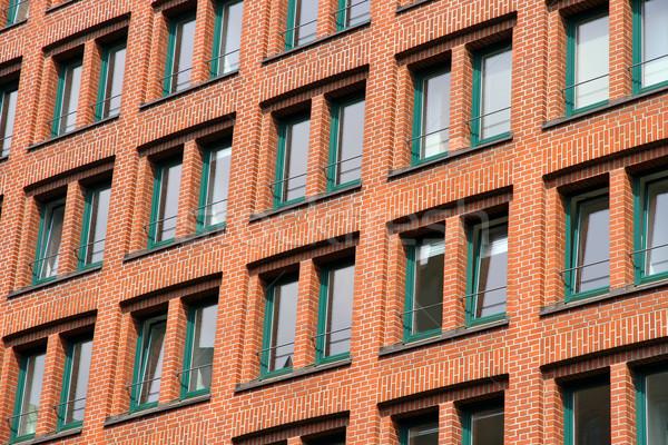 Stock photo: Facade in the Speicherstadt in Hamburg
